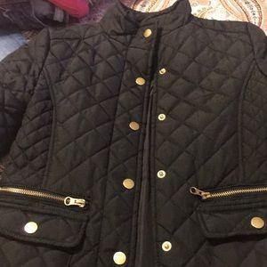 Girls Puffer Jacket.  Size 10